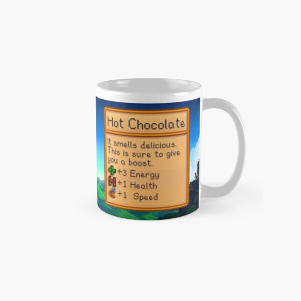 Stardew valley hot chocolate Classic Mug