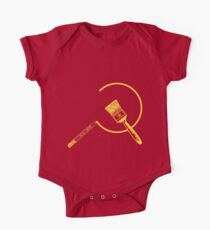 Art Community ( Version 2: Communist Colors ) Short Sleeve Baby One-Piece