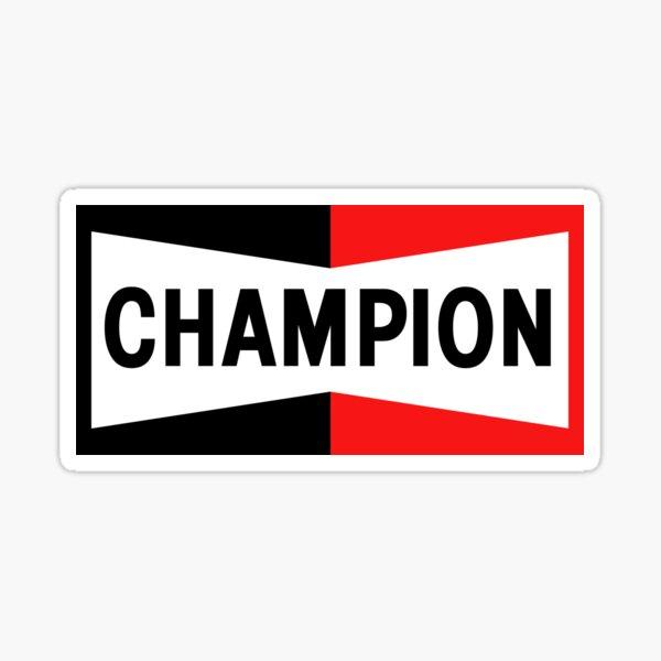 Championship Zündkerzen NASCAR Aufkleber Sticker