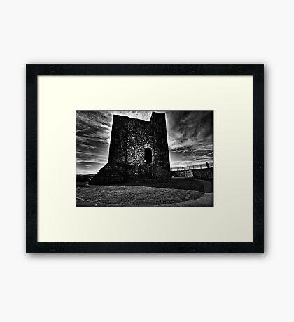 Clitheroe  Castle Framed Print