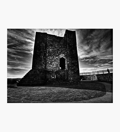 Clitheroe  Castle Photographic Print