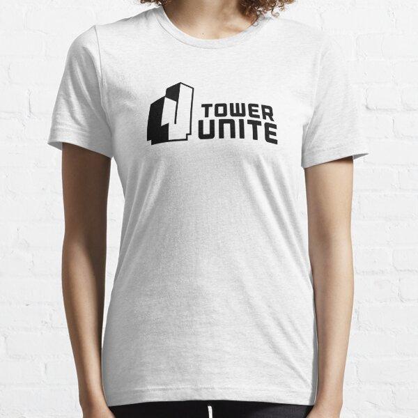 Tower Unite Logo Black Essential T-Shirt