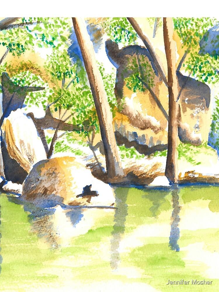 Turon River, Sofala, NSW by JenMosh