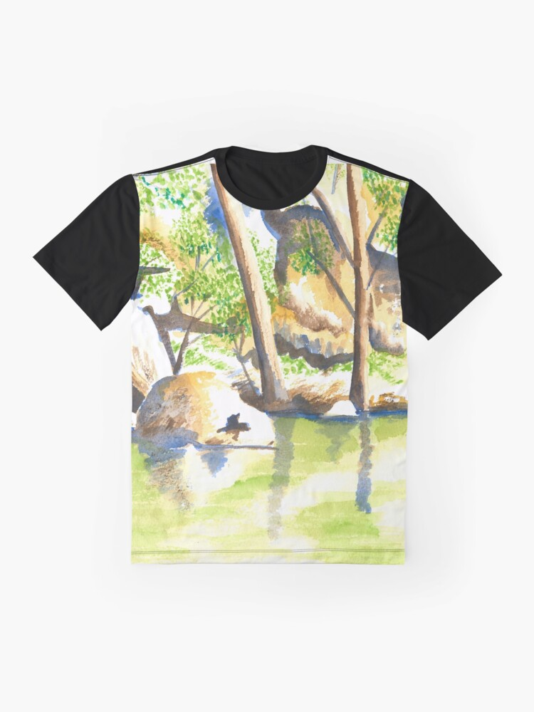 Alternate view of Turon River, Sofala, NSW Graphic T-Shirt