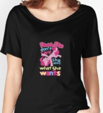 Pinkie Pie Women's Relaxed Fit T-Shirt