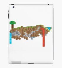 Minecraft Illustration iPad Case/Skin