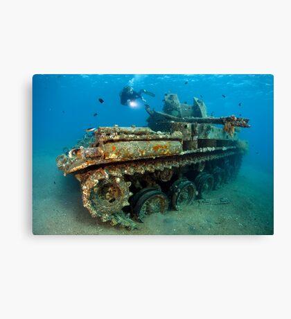 The Tank Canvas Print