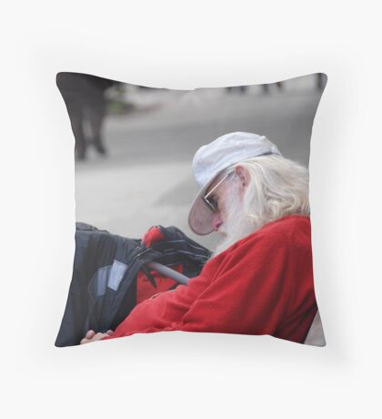 Chris, you'll be working come December... Throw Pillow