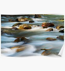 Smooth Whitewater Poster