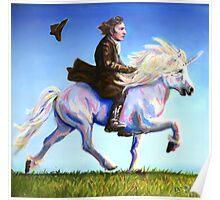 Alan Rickman Rides Again Poster