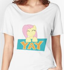 Fluttershy Yay Women's Relaxed Fit T-Shirt