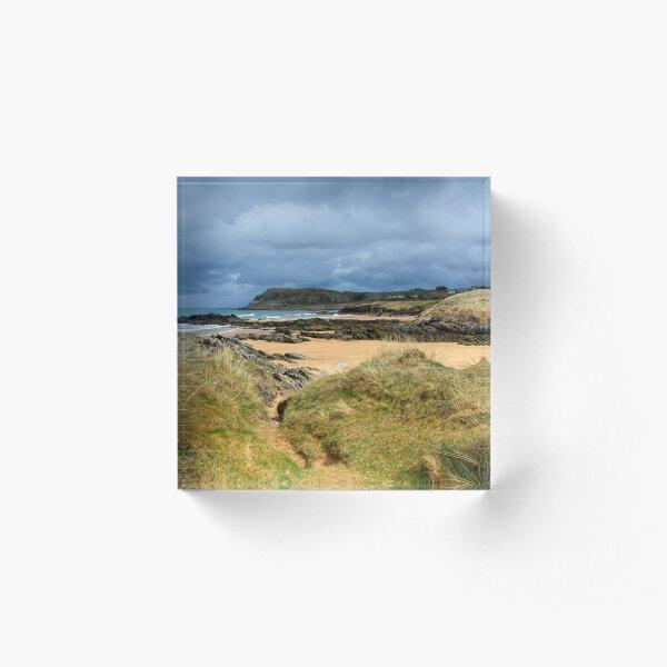 Culdaff beach,Donegal, Ireland Acrylic Block