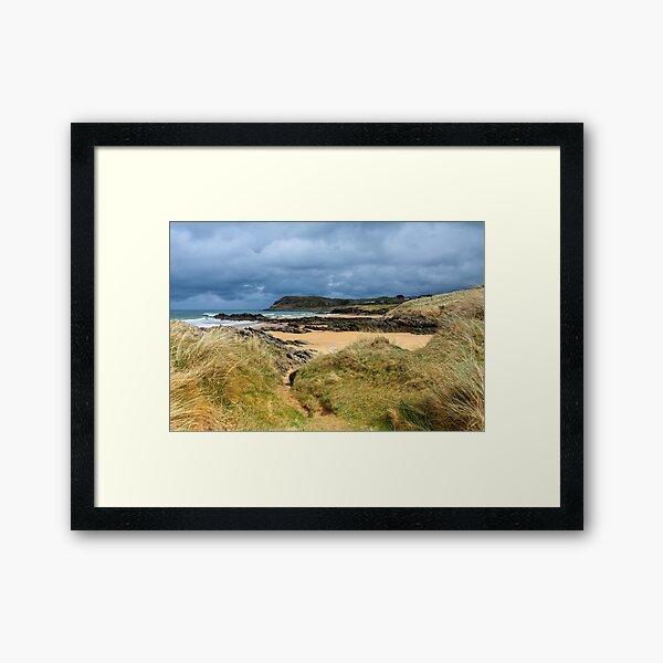 Culdaff beach,Donegal, Ireland Framed Art Print
