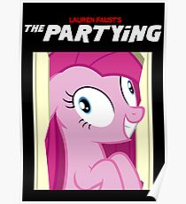 The Partying Poster Poster