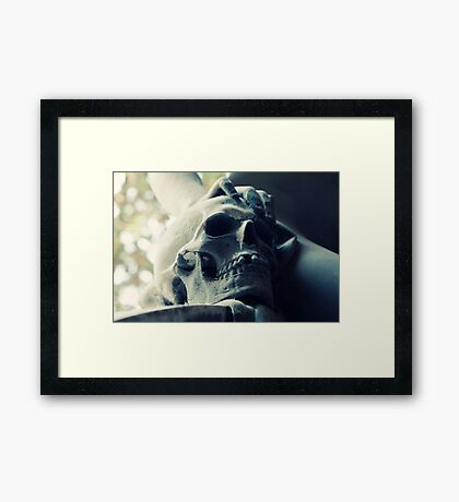 One tooth missing Framed Print