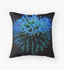 Blue Neutron Star Throw Pillow