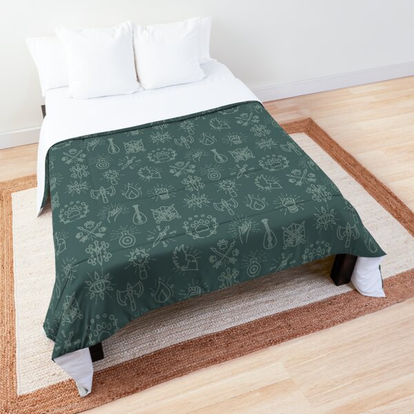 Class Collection - Moss Comforter