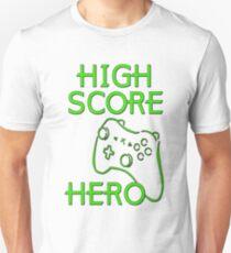 High Score Hero XBox Unisex T-Shirt