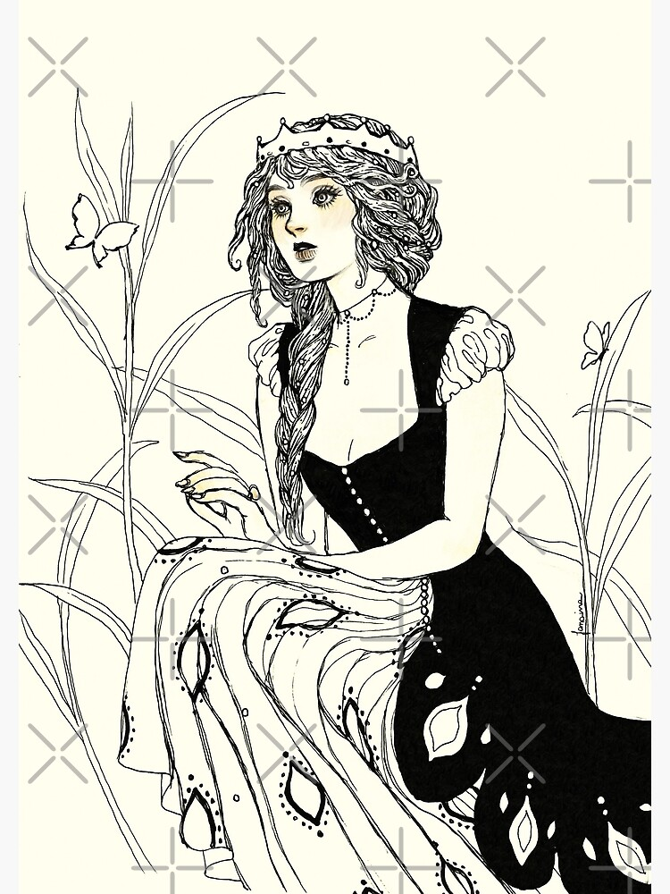 Guinevere by JanainaArt