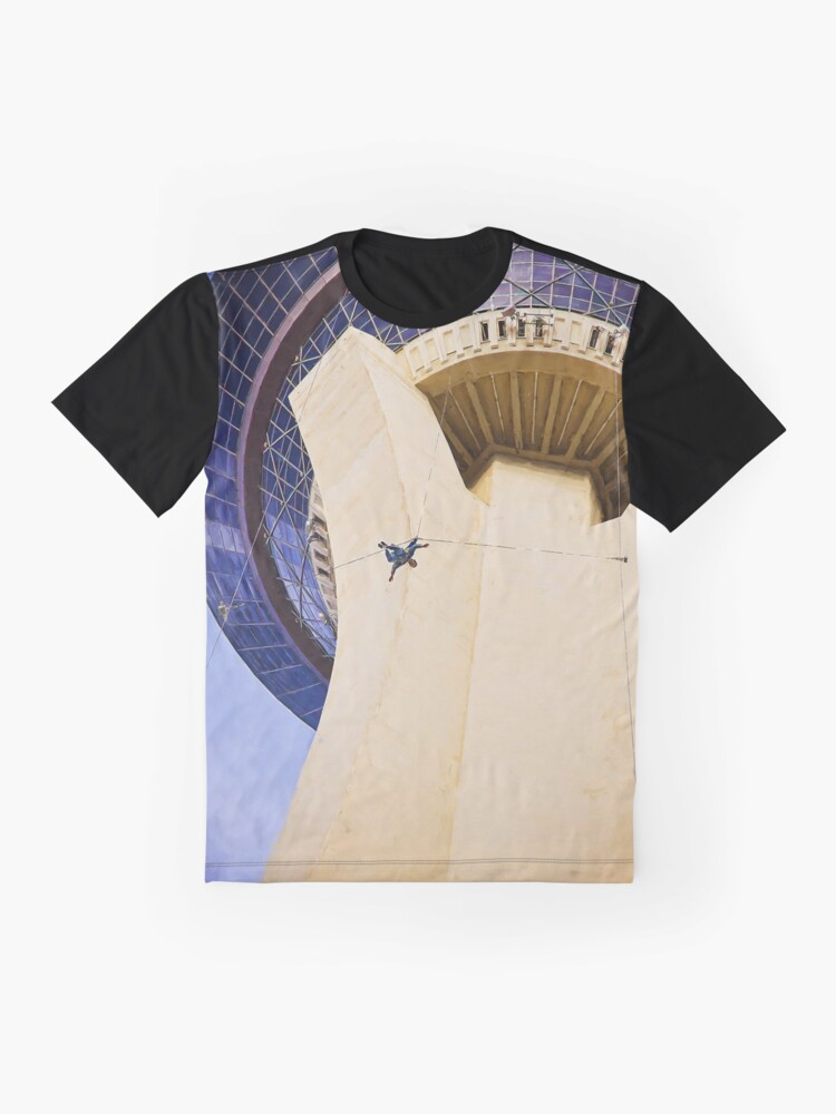 Alternate view of Stratosphere Tower Jumper Las Vegas Graphic T-Shirt