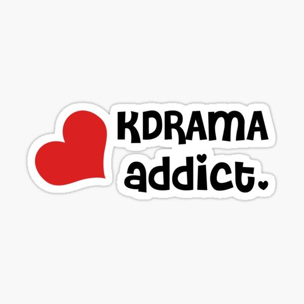 KDrama Addict Sticker