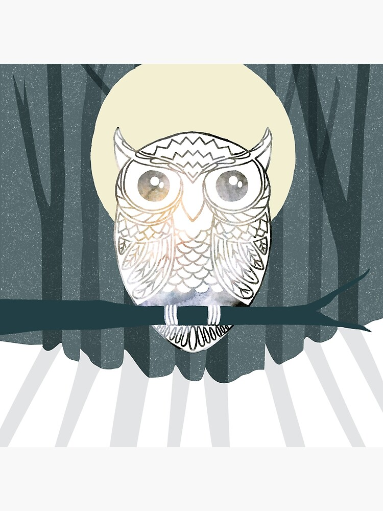 Owl is Calm by shan-made