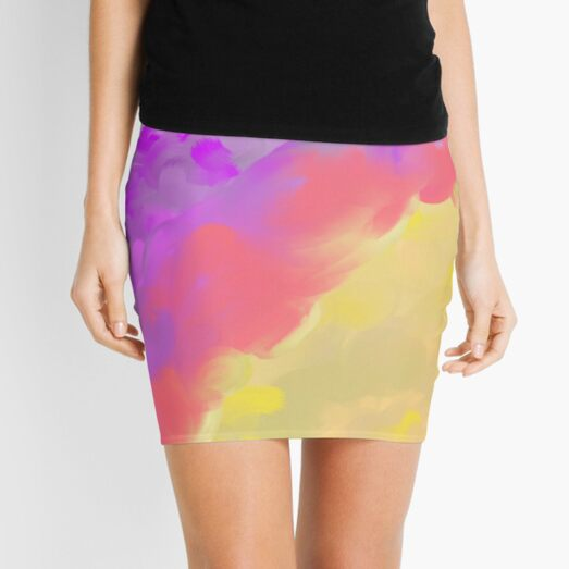 Splash Mini Skirt