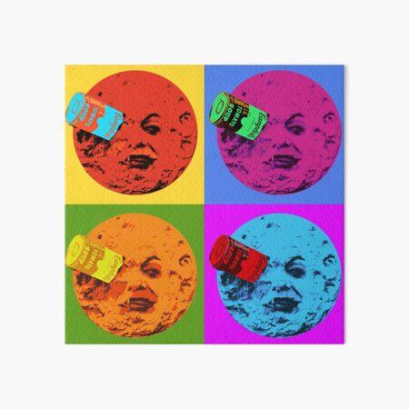 Can in the Moon Warhol Edition Art Board Print
