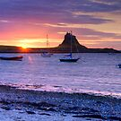 Island sunrise by cazjeff1958