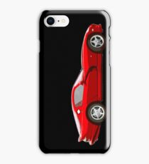 Dodge viper red edited version cartoon iPhone Case/Skin