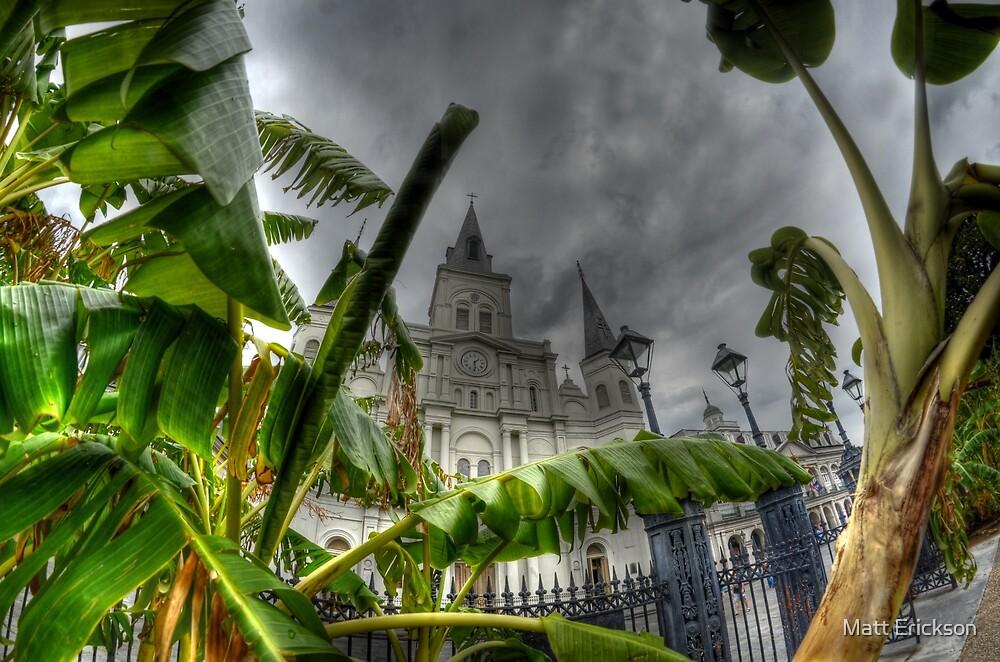 Saint Louis Cathedral, New Orleans by Matt Erickson