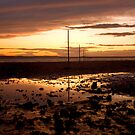 causeway sunset by cazjeff1958