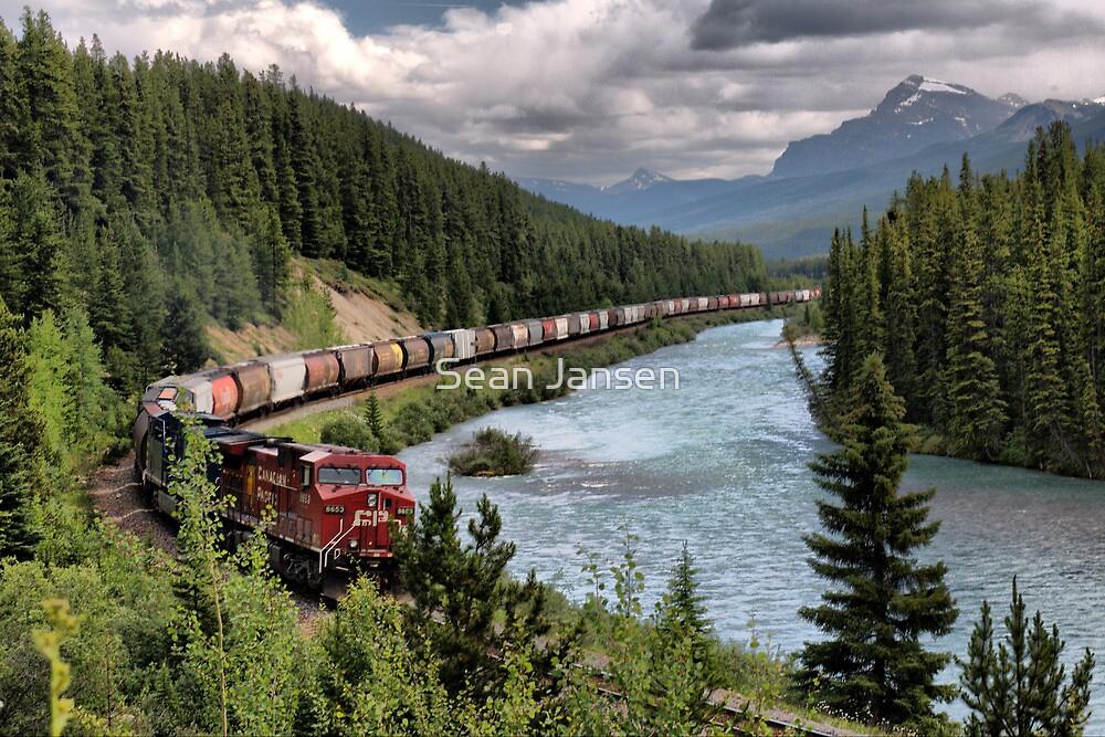 Canadian Pacific Railroad by Sean Jansen