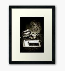 iPad Framed Print