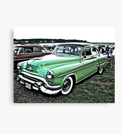1953 Oldsmobile - Cruise Night - Oakland Beach - RI Canvas Print