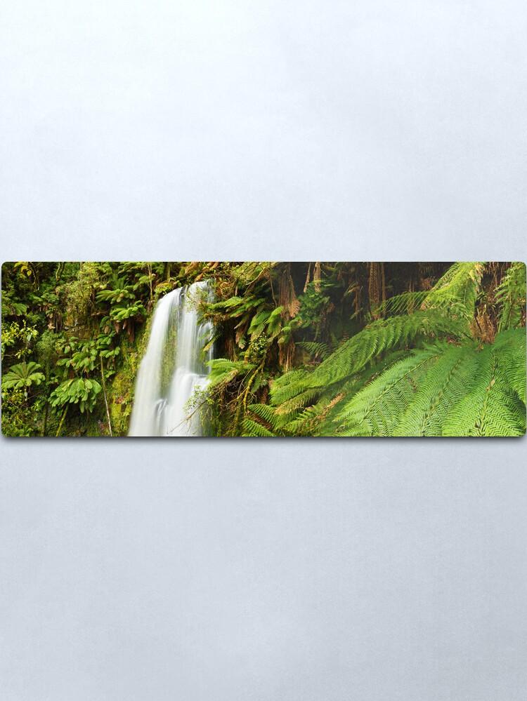 Alternate view of Beachamp Falls, Otways, Victoria, Australia  Metal Print