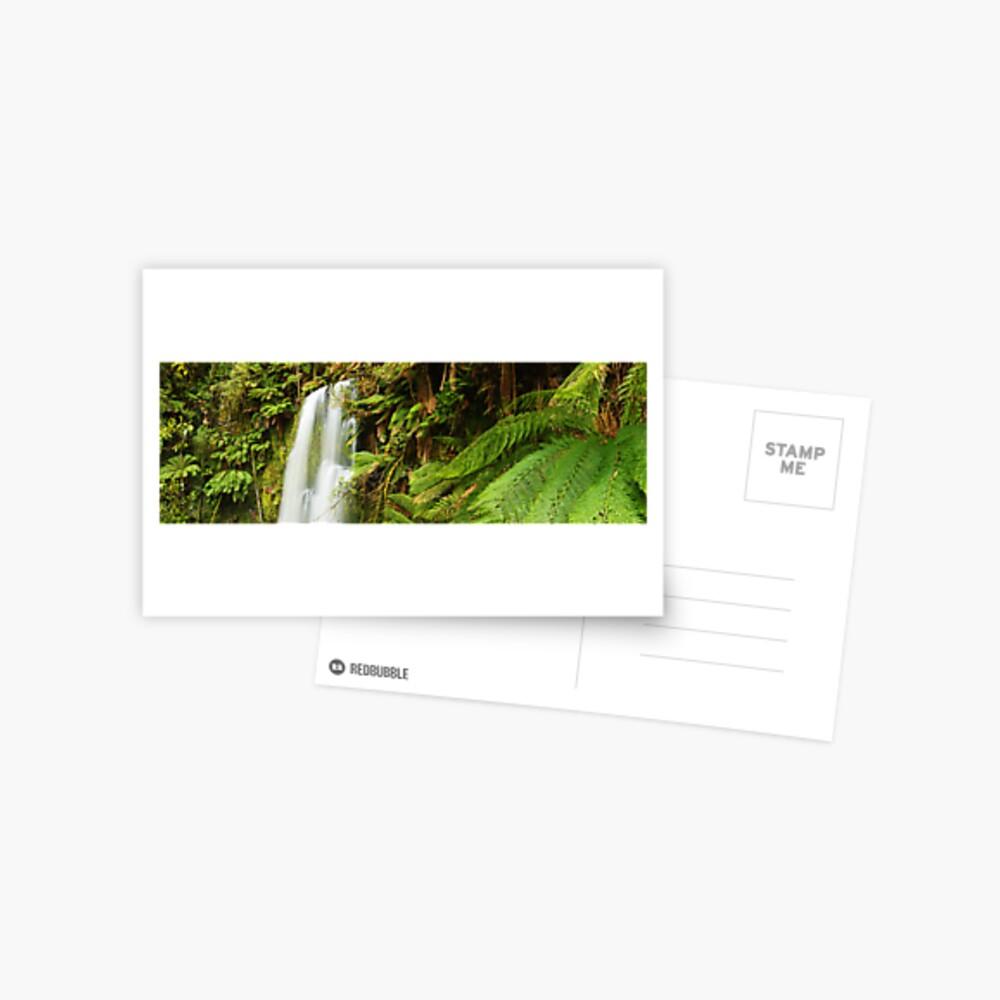 Beachamp Falls, Otways, Victoria, Australia  Postcard