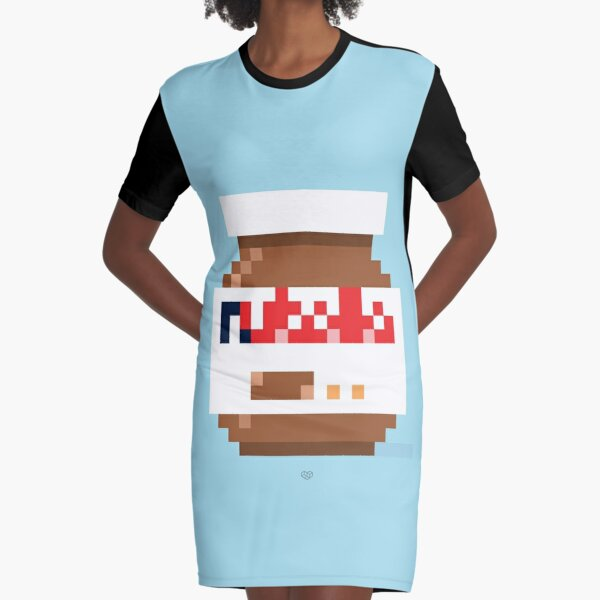 That spread Graphic T-Shirt Dress