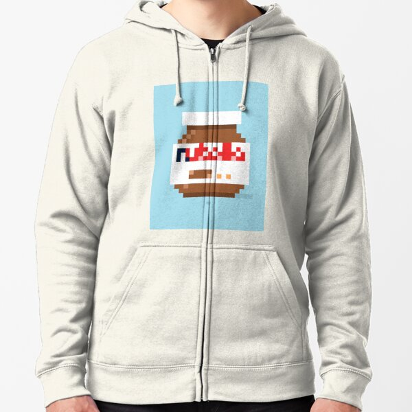 That spread — canvas Zipped Hoodie