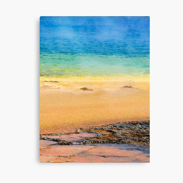 Grand Prismatic Spring Closeup Canvas Print