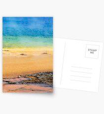 Grand Prismatic Spring Closeup Postcards