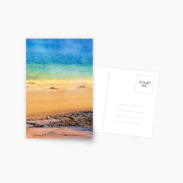 Grand Prismatic Spring Closeup Postcard