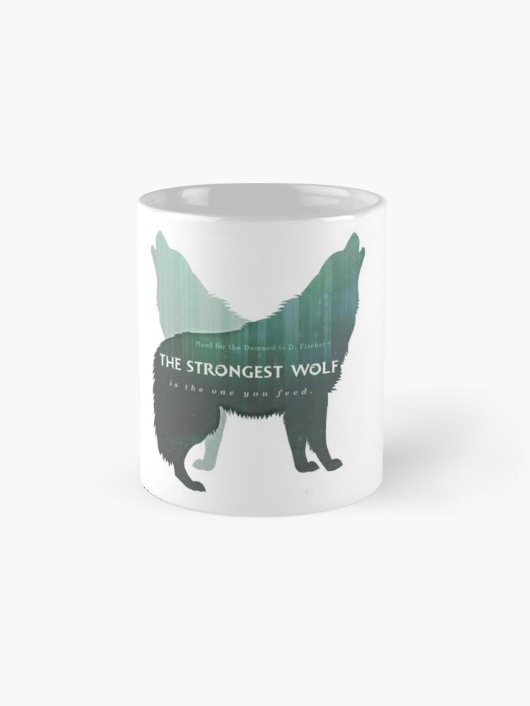 Alternate view of Howl for the Damned Mug