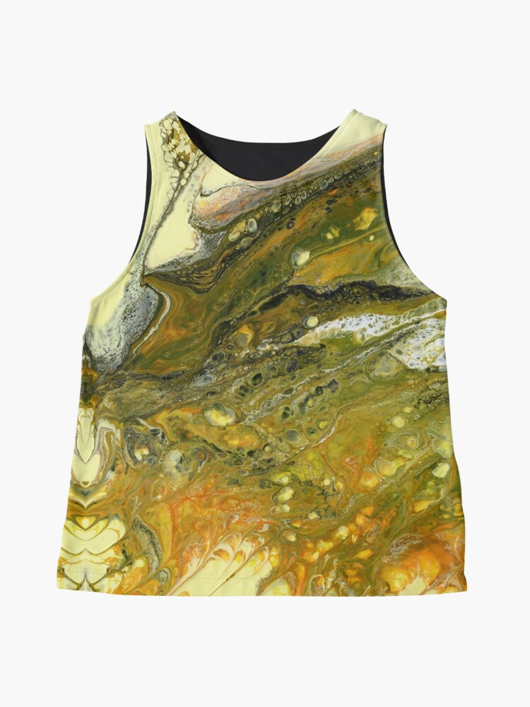 Alternate view of Alien Contemplating A Hillside Sleeveless Top