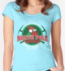 Yukon Cornelius North Pole Brewpub Women's Fitted Scoop T-Shirt
