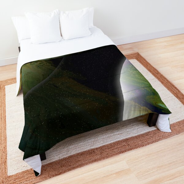 Approaching Conjunction: Outer Space Planet Art Comforter