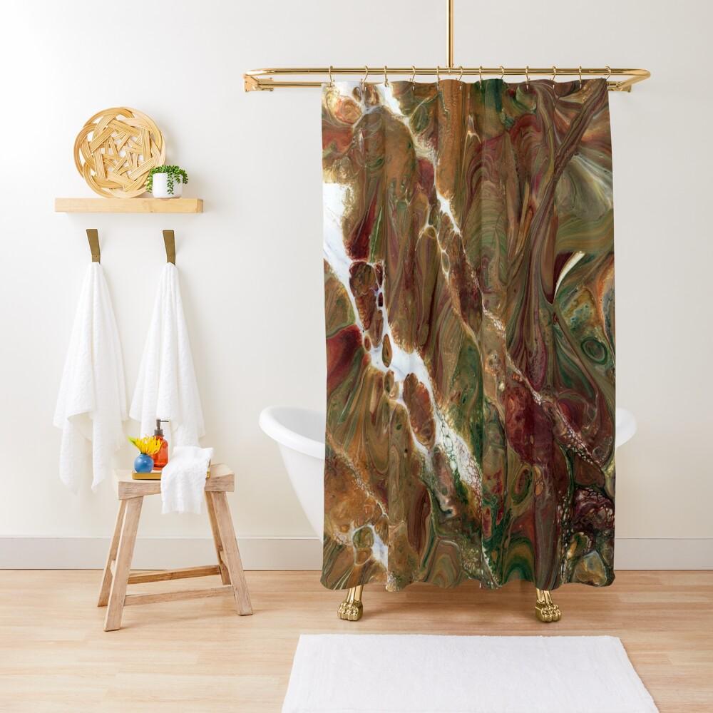 Chaotic Resonance Shower Curtain