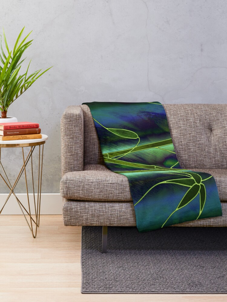 Alternate view of Bamboo Throw Blanket