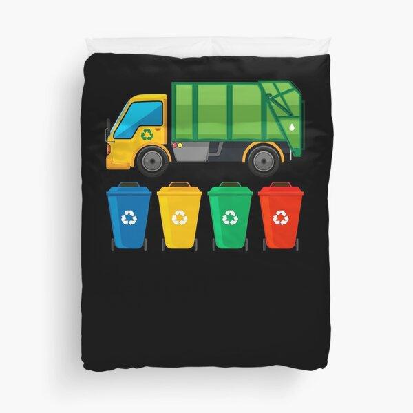 Garbage Truck Duvet Cover