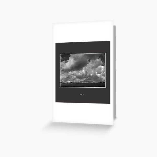 Clouds Above Tibetan Plateau 2009 Series 39 Greeting Card
